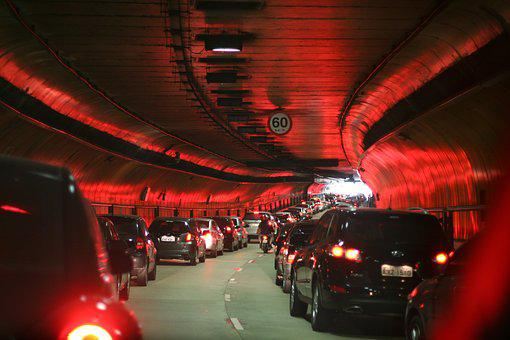 Are, Tunnel, Lights, Car, Transport, Train, Sp