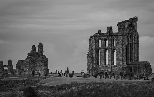 Tynemouth, Ruin, Monastery, Masonry, Cemetery