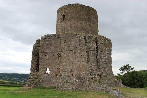 Tretower, Wales, Ancient Ruins, Castle