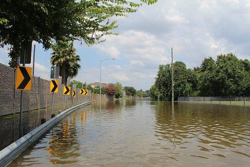 Hurricane Harvey, Flood, Houston, Water, Neighborhood