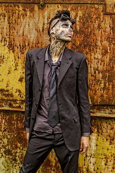 Tattoo, Modified, Ink, Zombie Boy, Tattooagem