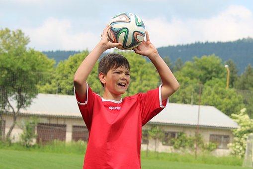 Football, Player, Footballer, Face, A Grimace