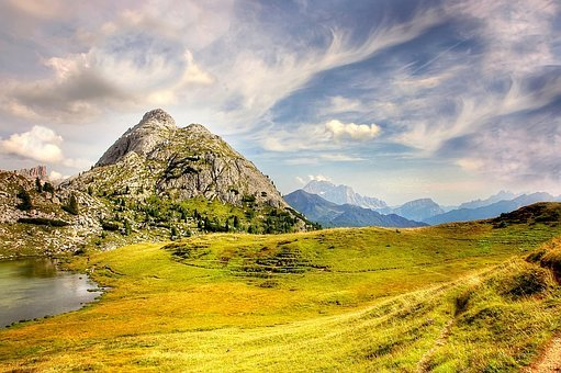 Val Parola, Witch Stone, Dolomites, Mountains, Alpine
