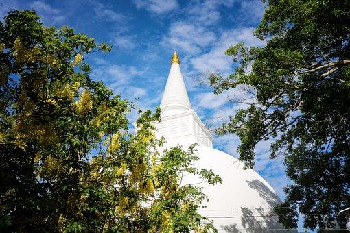 Temple, Srilanka, Buddhist, Asia, Buddha, Spiritual