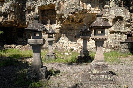 Temple, Nature, Japan, Buddha, Stone, Asia, Old