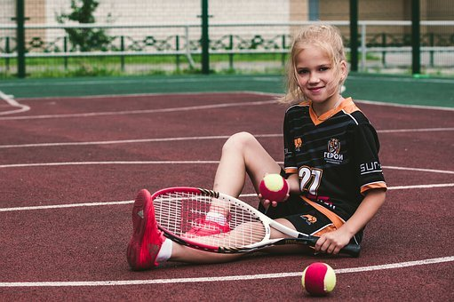 Girl, Tennis, Athlete, Sports, Player, Active, Model