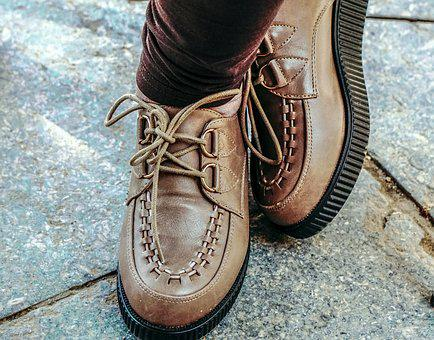 Shoes, Fashion, Style Young, Attractive, Skin, Female