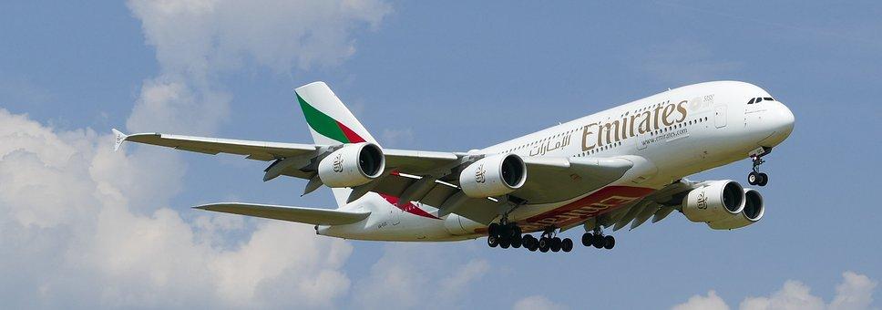 Airport, Zurich, Balls, Arrival, Landing, Emirates
