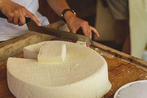Raw, Cheese, Cheese Dairy, Food, Milk Product, Milk