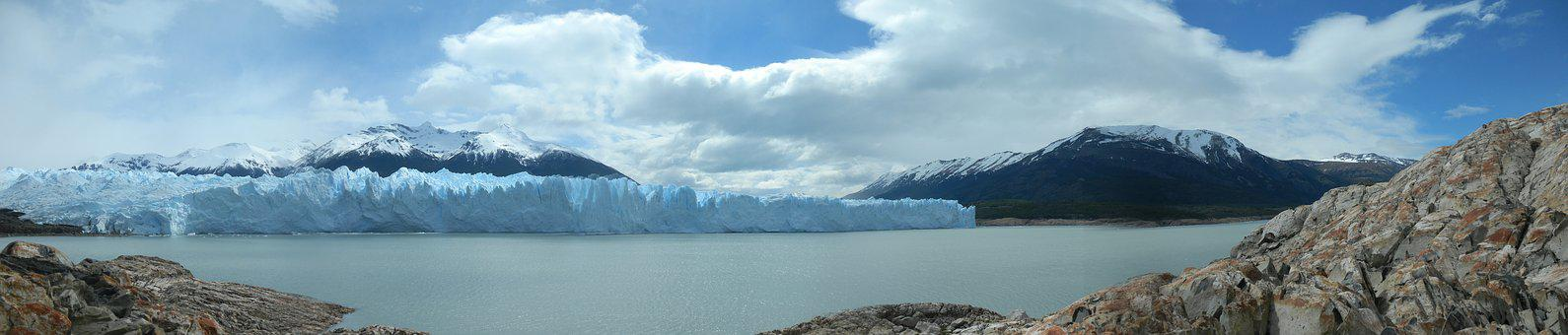 Calafate, Cold, South, Ice, Glacier, Argentina, Nature