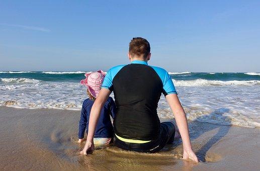 Cousins, Fun, Beach, Memories, Childhood, Cute