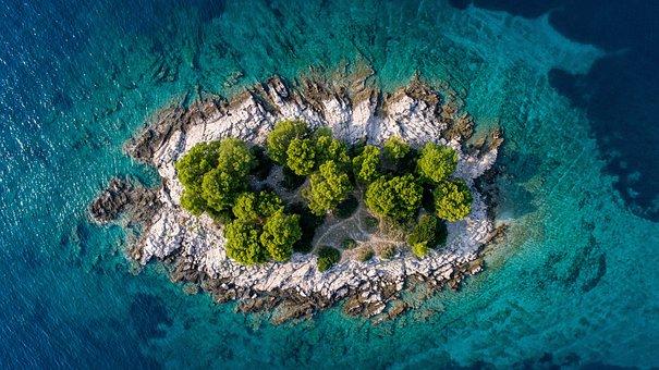 Island, Sea, Croatia, Summer, Vacations, Turquoise