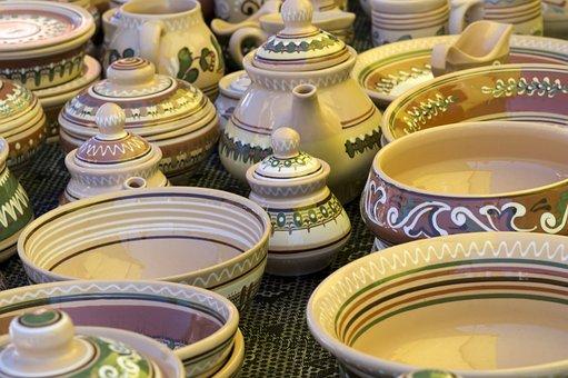Jug, Folk, Ceramic, Pattern, Creativity, Craft, Design