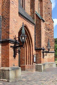 Doberan, Münster, Portal, Cistercian Monastery, Facade