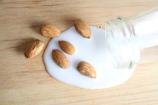 Almonds, Milk, Drink, Healthy, Delicious, Food, Fresh