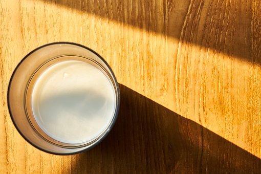 Milk, Glass, White, Food, Fresh, Healthy, Good Morning