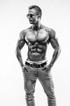 Fitness, Model, Muscles, Muscular, Force, Sport, Sports