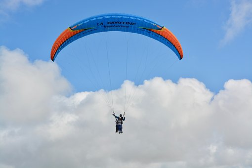 Paragliding, Take Off, Landing, Fly, Free Flight