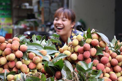 Asia, Market, Vietnam, Food, Fresh, Fruit, Travel