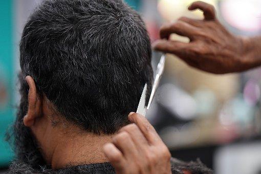Hairdresser, Hairstyle, Cutting Hair, Men, Hair Salon