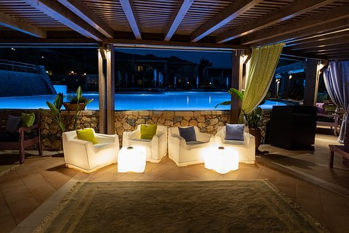 Pool Bar, Bar, Swimming Pool, Lounge, Water, Colorful