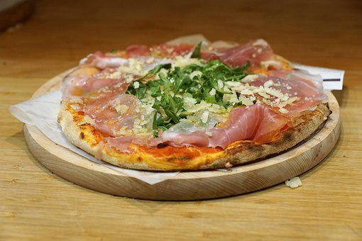 Pizza, Italy, Eat, Meat, Food Halls, Amsterdam, Plate