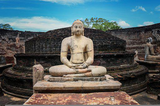 Temple, Srilanka, N, Travel, Asia, Buddha, Meditation
