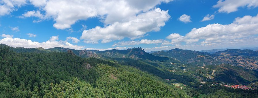 Mountains, Landscape, Nature, Clouds, Sky, Mountain