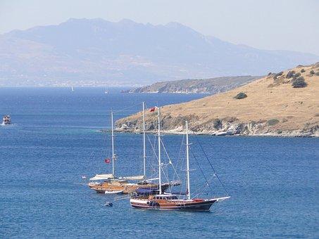 Turkey, Asia, Landscape, The Coast, Sea, Nature, Summer