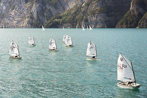 Optimist, Sail, Sailing Boat, Children Sailing, Regatta