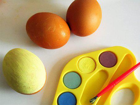 Ostsereier, Easter, Color, Colored, Colorful, Egg