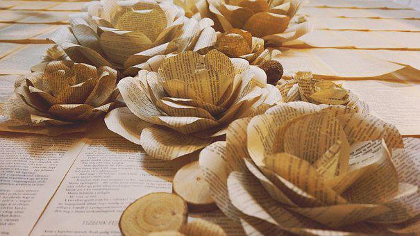 Paper Flowers, Wall Flowers, Environmental