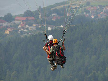Paraletic, Paraglider, Hobby, Flying, Paragliding