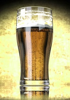 Beer, Glass, Refreshment, Drink, Alcohol, Beverages