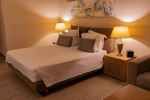 Hotel Room, Room, Bed, Bedroom, Stay, Luxury, Cosy