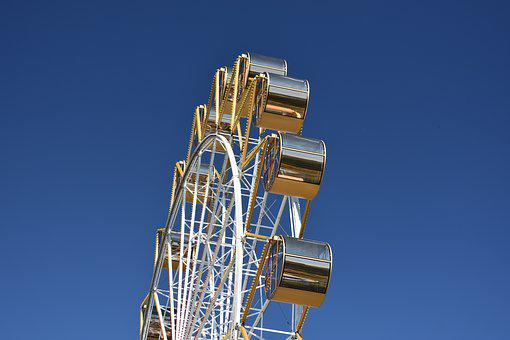 Ferris Wheel, Novosibirsk, Russia, Entertainment