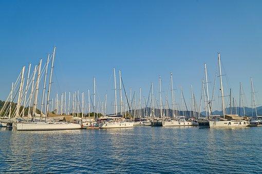 Marina, Sailboat, Ship, Sailing, Beautiful, Landscape