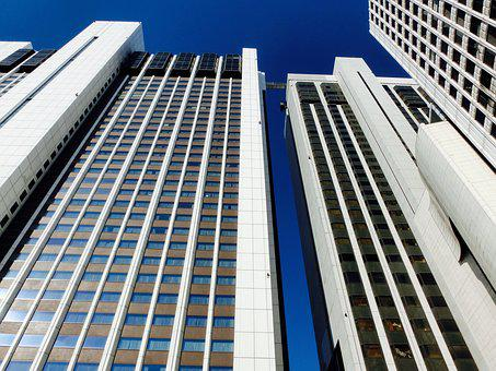 High Rise Building, Korea, Seoul, City, Metropolis