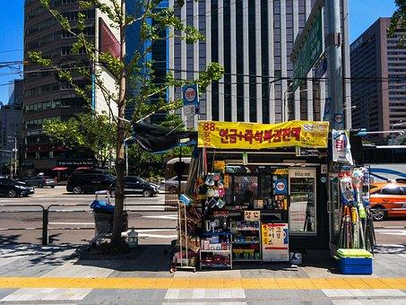 Seoul, Korea, City, South Korea, Architecture, Building