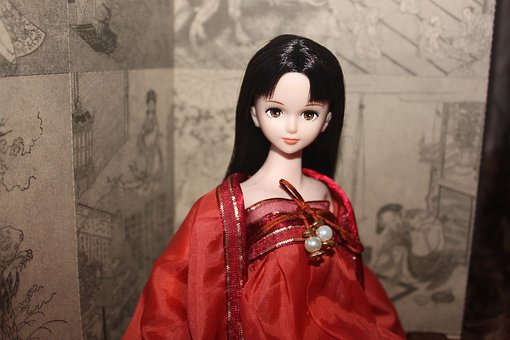 Doll, Still Life, China Wind, Asia, East