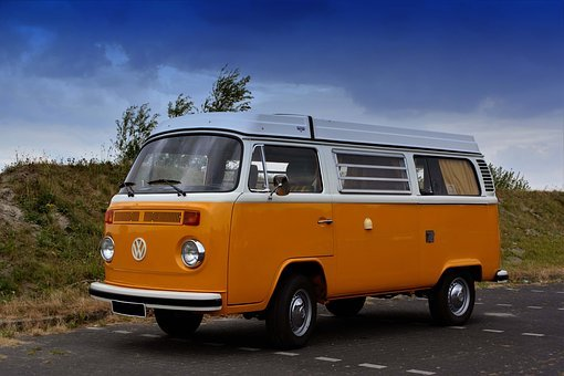 T1, T2, Vw, Oldtimer, Auto, Bulli, Vehicle, Old, Bus