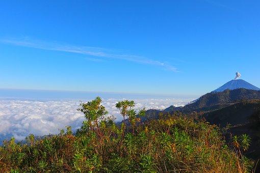 Semeru, Landscape, Nature, Mount, Volcano, Mountain