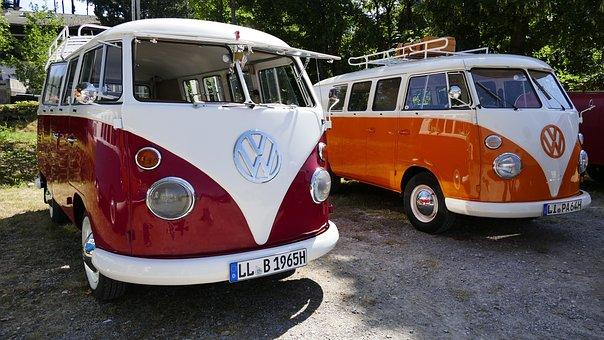 Bus, Auto, Vehicle, Volkswagen, Vw, Automotive, Cult