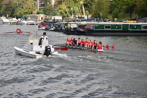 Crew, Training, Thames, Crews, Water, Kids, Athletes