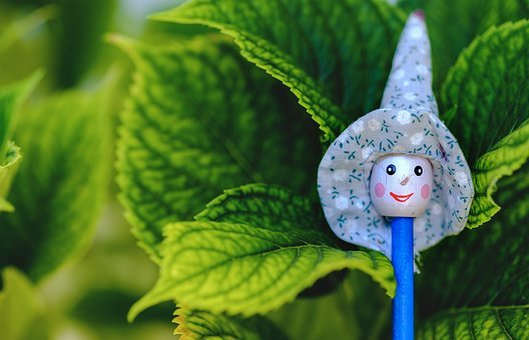 Witch, Pencil, Hat, Miniature, Vegetation, Halloween