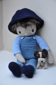 Amigurumi, Craft, Doll