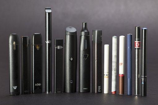 Ecigarette, Juul, Electronic Cigarette, Blu, Njoy
