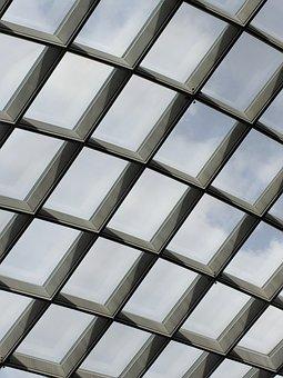 Ceiling, Broken Sky, National Portrait Gallery Dc