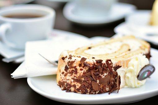 Cake, Cream Cake, Coffee And Cake, Cafe, Eat, Cream
