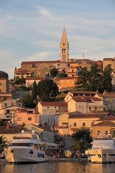 Vrsar, Croatia, Historic Center, Istria, Church